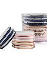 abordables -8 pcs Houppette / Eponge Éponge Rond Visage Portable Niveau professionnel Portable Kits Quotidien Exercice Ensembles Maquillage