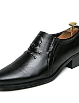 cheap -Men's Shoes Tulle Fall Winter Driving Shoes Loafers & Slip-Ons Buckle for Casual Party & Evening Black