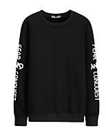 cheap -Men's Active Sweatshirt - Letter