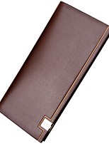 cheap -Men's Bags PU Leather Wallet Tiered for Shopping Black / Coffee