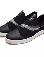 Недорогие -Муж. обувь Резина Весна / Лето Удобная обувь Кеды Белый / Красный