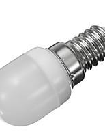 baratos -1pç 2W 250-280lm E14 Luzes de LED em Vela Lâmpada Redonda LED 6pcs Contas LED SMD 2835 Decorativa Branco Quente Branco Frio 220-240V
