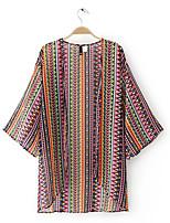 Недорогие -Жен. Блуза Классический Радужный
