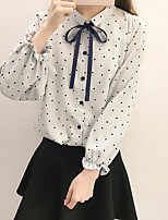 cheap -Women's Cute Basic Blouse - Solid Colored