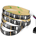 cheap -1m RGB Strip Lights 30 LEDs 1 DC Cables RGB Cuttable Waterproof Self-adhesive Linkable Decorative USB Powered 5V