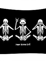 Недорогие -Люди Ужасы Декор стены 100% полиэстер Классика Традиционный Предметы искусства, Стена Гобелены Украшение