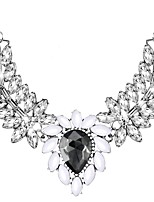 cheap -Women's Drop Statement Necklace  -  Oversized Elegant Black 50cm Necklace For Wedding Evening Party