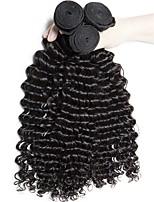 Недорогие -Бразильские волосы Кудрявый / Крупные кудри Необработанные / Не подвергавшиеся окрашиванию Подарки / Распродажа брендовых товаров Ткет