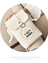 cheap -Women's Bags PU Clutch Buttons for Casual White / Black / Gray