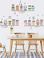 cheap -Decorative Wall Stickers - Plane Wall Stickers Shapes Living Room Bedroom Bathroom Kitchen Dining Room Study Room / Office