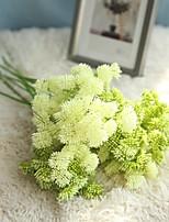 abordables -Fleurs artificielles 1 Une succursale Fleurs de mariage / Mariage Chrysanthème Fleur de Table