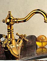 abordables -Robinet lavabo - Jet pluie Ti-PVD Vasque Mitigeur un trou