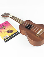 cheap -Ukulele 21inch Material Wooden Manual