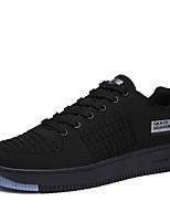 abordables -Homme Chaussures Gomme Printemps / Eté Confort Basket Noir / Gris / Vert