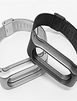 cheap -Watch Band for Mi Band 2 Xiaomi Milanese Loop Stainless Steel Wrist Strap