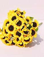 abordables -Fleurs artificielles 1 Une succursale Moderne / Contemporain Chrysanthème / Plantes Fleur de Table