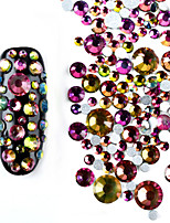 cheap -800pcs Nail Jewelry Rhinestone Glow Casual / Daily Nail Art Design