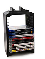 abordables -Sans Fil Boîte de rangement de carte Pour PS4 Slim PS4,ABS Boîte de rangement de carte