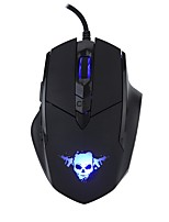 cheap -MODAO Wired USB Gaming Mouse Optical E1806 6pcs keys Led breathing light 4 Adjustable DPI Levels 2 programmable keys 800/1200/1800/2400dpi