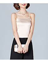 cheap -Women's Basic Tank Top - Solid Colored Strap
