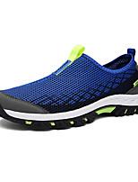 Недорогие -Муж. обувь Тюль Лето Удобная обувь Кеды Серый / Военно-зеленный / Тёмно-синий
