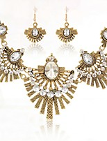 cheap -Women's Jewelry Set 1 Necklace / Earrings - Vintage / Elegant Gold Jewelry Set For Wedding / Party