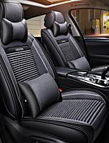 Недорогие -ODEER Подголовники Подушки для талии Чехлы для сидений Серый текстильный Кожа PU Общий for Универсальный Все года Все модели