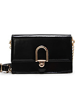 cheap -Women's Bags PU Shoulder Bag Zipper for Casual Black / Red / Beige