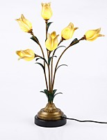abordables -Métallique / Artistique Créatif / Décorative Lampe de Table Pour Salle de séjour / Bureau / Bureau de maison Métal 110-120V / 220-240V