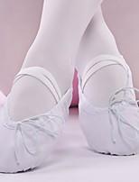 abordables -Femme Chaussures de Ballet Toile Plate Talon Cubain Chaussures de danse Blanc / Noir / Chair / Utilisation / Entraînement