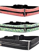 cheap -Waist Bag / Waistpack - Lightweight, Rain-Proof, Multifunctional Yoga, Running Black, Red, Green