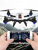 abordables -RC Drone F22G BNF 4 Canaux 6 Axes 2.4G Avec Caméra HD 2.0MP 720P Quadri rotor RC FPV / Retour Automatique Quadri rotor RC / Télécommande