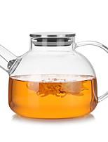 abordables -Drinkware Verre à haute teneur en bore Pot d'eau et bouilloire Girlfriend cadeaux Boyfriend cadeaux Dessin-Animé Mignon 1pcs