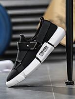 Недорогие -Муж. обувь Трикотаж Весна Удобная обувь Мокасины и Свитер Черный