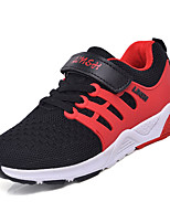 preiswerte -Jungen Schuhe Atmungsaktive Mesh Frühling Sommer Komfort Sportschuhe Walking für Kinder Sportlich Schwarz Orange Rot