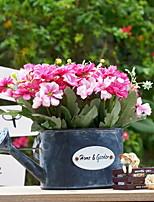 abordables -Fleurs artificielles 1 Une succursale style pastoral Chrysanthème Fleur de Table