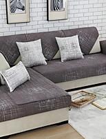 baratos -almofada do sofá Sólido Impressão Reactiva Algodão / Poliéster Capas de Sofa
