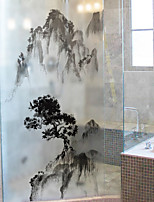 cheap -Window Film & Stickers Decoration Simple Simple PVC Window Sticker Matte Water-Repellent