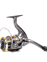 cheap -Fishing Reel Spinning Reel 5.5:1 Gear Ratio+8 Ball Bearings Hand Orientation Exchangable Sea Fishing