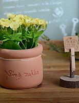 baratos -Flores artificiais 1 Ramo Rústico Crisântemo Flor de Mesa