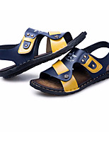 cheap -Boys' Shoes Leatherette Summer Comfort Sandals for Black / Yellow / Blue