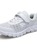 Недорогие -Девочки Обувь Тюль Лето Удобная обувь Спортивная обувь Беговая обувь / Для пешеходного туризма для Белый / Темно-синий / Тёмно-синий
