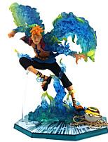 economico -Figure Anime Azione Ispirato da One Piece PVC 16cm CM Giocattoli di modello Bambola giocattolo