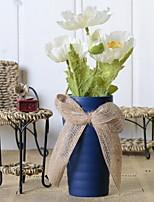 abordables -Fleurs artificielles 1 Une succursale Rustique Coquelicot Fleur de Table