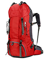 cheap -60L Hiking Backpack - Rain-Proof, Wearable Camping, Military, Travel Oxford Fuchsia, Red, Green