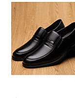 abordables -Homme Chaussures Cuir Hiver Confort Mocassins et Chaussons+D6148 Noir / Marron