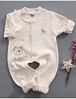 preiswerte -Baby Unisex Druck Langarm Anzug & Overall
