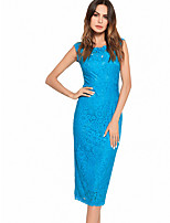 cheap -TS - Dreamy Land Women's Going out Slim Bodycon Dress - Solid Colored