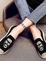 cheap -Men's Shoes Canvas Summer Comfort Loafers & Slip-Ons White Black