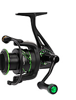 cheap -Fishing Reel Spinning Reel 6.2:1 Gear Ratio+12 Ball Bearings Hand Orientation Exchangable Sea Fishing / Bait Casting / Spinning